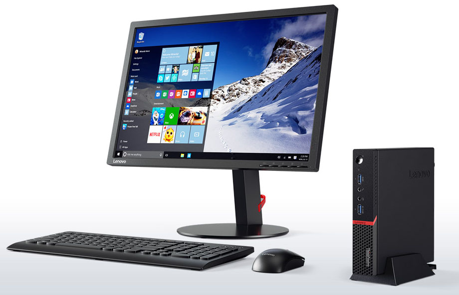 lenovo-tiny-desktop-thinkcentre-m700-front-with-monitor-2